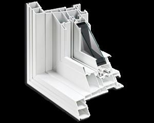 Conception multichambre pour fenêtre coulissante