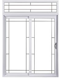 Exemple de style pour portes patio en aluminium