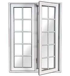 Fenêtre avec exemple de carrelage georgien