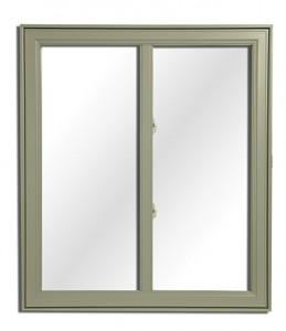 Exemple de fenêtres coulissantes hybrides