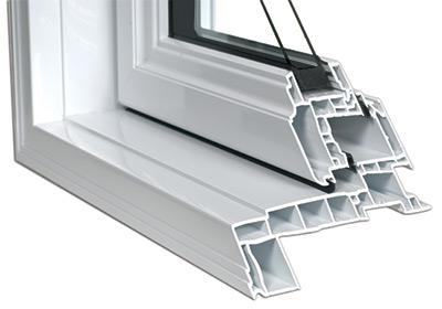 Conception multichambre d'un volet pour fenêtre à battants