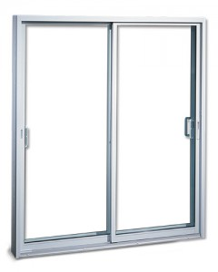 Porte patio en aluminium